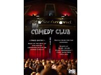 The Richmond Comedy Club Free 19:30
