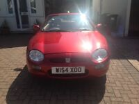 CLASSIC 2000 STEPTRONIC MGF CONVERTIBLE 55,000 MILES MOT MARCH 2018