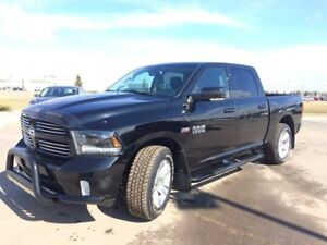 2015 Ram 1500 Sport leather navigation moonroof black!!
