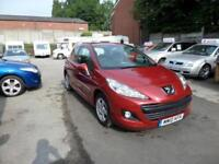 Peugeot 207 2010 Millesim Edition HDi 3dr Diesel Manual Metallic Red Immaculate