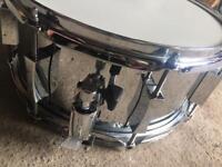Little squealer pork pie snare drum