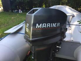 3m dinghy with 20hp mariner