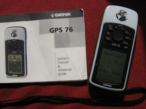 Marine GPS Garmin 76  With manual
