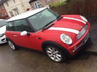 2003 Mini Cooper Red 1.6 Manual 12 months MOT only 98K £1250