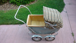 1950's Antique Doll Carriage