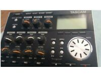 TASCAM DP004 STUDIO 4 TRACK RECORDER MIXER