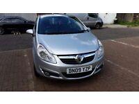 2009 Vauxhall Corsa 1.4 i 16v Design 5dr (a/c) Service History Low Mileage @07445775115@