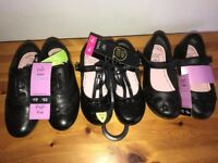 *CHEAP* ALL 3 FOR £15 BRAND NEW F+F (TESCO) GIRLS UK SIZE 10 SCHOOL SHOES