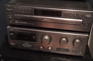JVC Amp and 5 CD player
