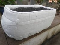 Garden Planter Wolsvagen Bus All Weathers 51 cm x 23 cm