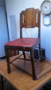 REDUCED  Antique table and chairs Best Offer
