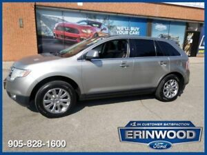 "2008 Ford Edge LimitedAWD / PANO ROOF / LTHR / 18"" CHRM WHLS"
