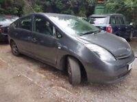 Toyota Prius 1.5 Hybrid T Spirit CVT 5dr SPARE/REPAIR ELECTRIC ENGINE WORKS FINE PETROL ENGINE NOISY