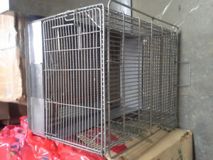 Metal Pet cage with bottom tray - for sale