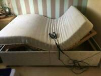 Dream well double bed with massage function