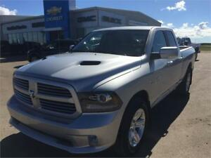 "2016 Ram 1500 4WD Quad Cab Sport "" Only 500 Kms"""