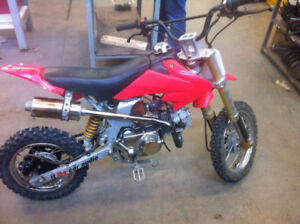 Honda pitster pro, just redid engine, (remake)
