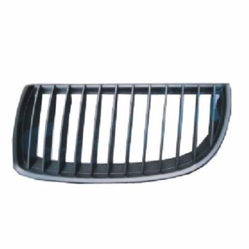 BMW 3 E90 E91 SALOON & ESTATE 2005-2011 KIDNEY GRILLE LEFT SIDE ALL BLACK NEW FREE DELIVERY