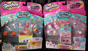 Shopkins S3 Food Fair - Fast Food + Cool and Creamy Play sets