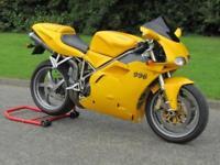 2002 Ducati 996 S Biposto Sports bike Ohlins Showa Termignoni