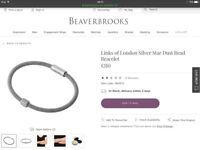 Brand New Genuine Links o.f London Bracelet