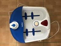 Foot Relaxing Spa with 3 Foot Care Annex for foot beauty,Wet Or Dry Vibrating Massage