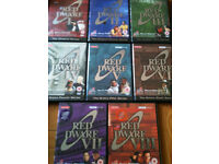 Dvds of red dwarf series 1 to 8