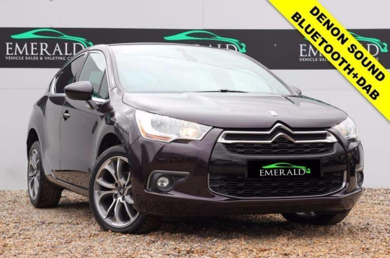 2014 14 CITROEN DS4 1.6 E-HDI AIRDREAM DSTYLE 5D 115 BHP DIESEL