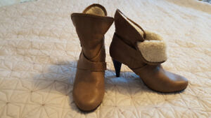 Booties boots by G21 worn once in car size 8.5