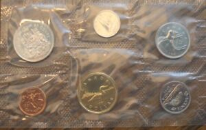 Set of Canadian Coins – 1991 Brilliant Uncirculated