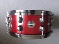 Ddrum Diatribe birch snare drum, red sparkle, immaculate condition