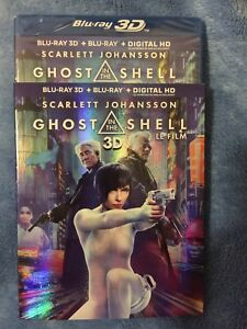 Ghost in the shell Blu ray 3d digital