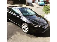 Vw scirocco 66 plate