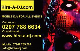 MOBILE DJ HIRE FROM £225 KENT, PARTY DJ, WEDDING DJ, BIRTHDAY DJ, MOBILE DISCO, MAIDSTONE, ASHFORD