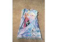 Brand New Genuine Disney Frozen Dress Age 3-4 or 4-5 with tutu effect