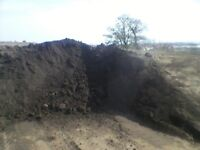 Screened topsoil for sale can deliver.