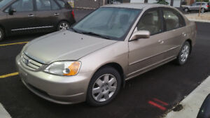 2002 Honda Civic loaded Sedan