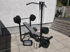 DUMBELL BANC D'EXERCICE