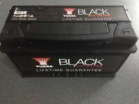 YUASA Lifetime Battery 019 Lifetime Black