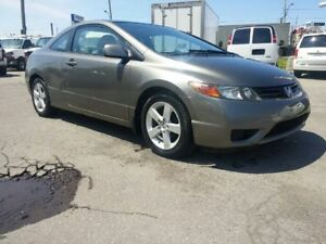 2006 CIVIC MANUAL COUPE ALL ELECTRIC AC MAG VERY CLEAN 8 TIRES