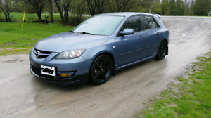 2007 mazdaspeed3  (Turbo Charged)