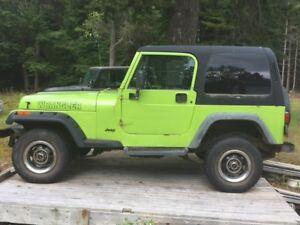 1994 Jeep Wrangler Convertible