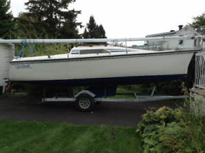 Voilier Hunter 23.5 pied