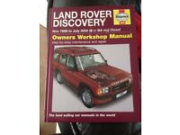 LAND ROVER DISCOVERY 1998 -2004