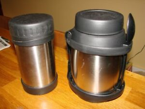 Thermos Lunch containers - stainless steel