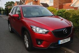 Mazda CX5 SE-L Lux NAV: one owner, cream leather, sunroof, satnav, electric heated seats, sensors...
