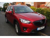Mazda CX5 SE-L Lux NAV: one owner, cream leather, sunroof, satnav, electric heated seats, sensors...
