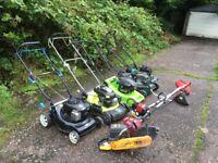 Joblot of lawnmowers mowers spares or repair