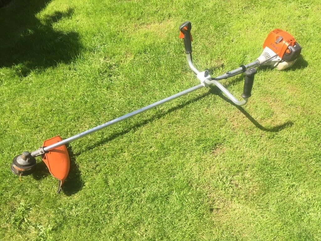 stihl weedeater fs 90. stihl fs90 professional petrol cow horn handle strimmer / brushcutter weedeater fs 90