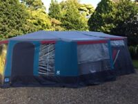 Raclet Trailer Tent (sleeps 6) with Awning and custom-made groundsheet. Hook up and go! New tyres.